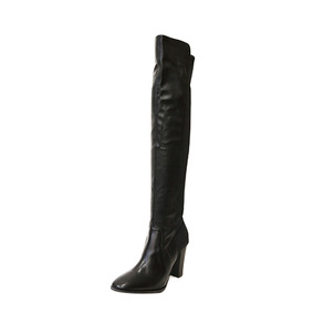 Dabagirl Faux Leather Knee High Boots
