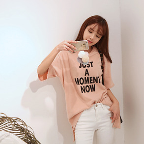 Dabagirl JUST A MOMENT NOW Shirt