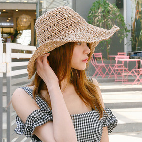 Dabagirl Knitted Floppy Sun Hat