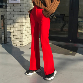Dabagirl High Waist Bootcut Pants