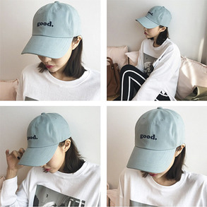 Dabagirl Lettering Embroidered Cap