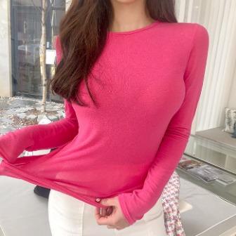 Dabagirl Round Neck Extended Sleeve Top