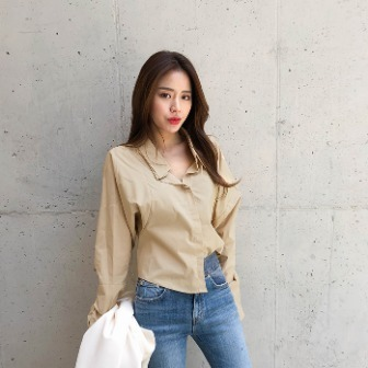 Dabagirl Extended Sleeve Drop Shoulder Blouse