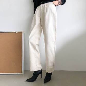 Dabagirl Pleated Loose Fit Solid Tone Pants